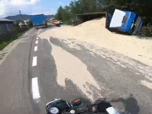 Accidentul s-a petrecut la Molid-Vama și din fericire nu au fost victime