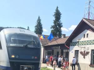 Modificare a mersului trenului Suceava-Putna, pentru cei care vor să ajungă la mănăstire