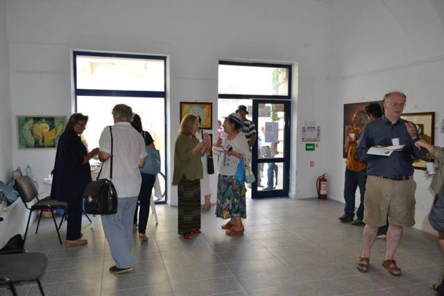 Expoziția Temporal-atemporal - artistă Georgeta Gheorghiu