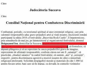 Acțiunea în instanță iniţiată de Ion Drăgușanul