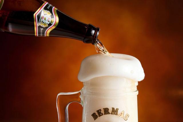La halbă se vinde doar bere Călimani Sursa: Bermas