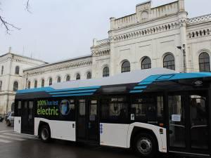 Autobuzele electrice vor circula de anul viitor pe străzile Sucevei