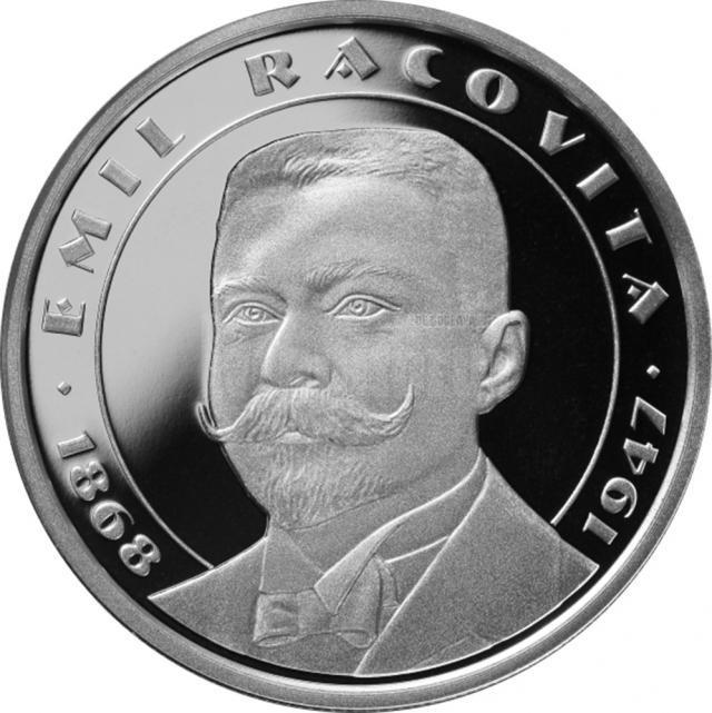 Monedă din argint - revers
