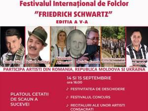 """Festivalul Internaţional de Folclor """"Friedrich Schwartz"""", ediţia a V-a"""