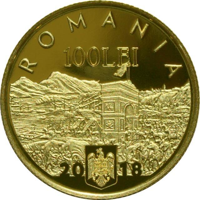 Emisiune numismatică – avers