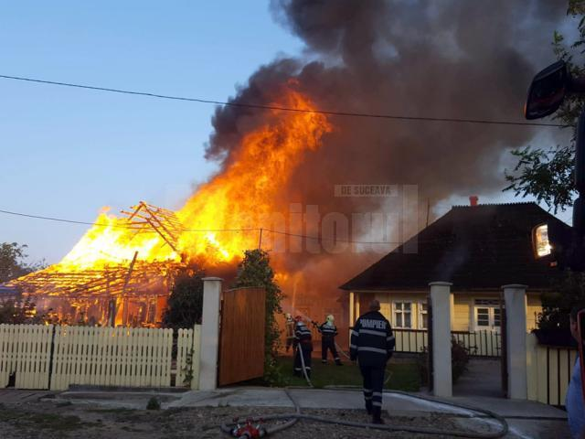 Incendiul din comuna Marginea