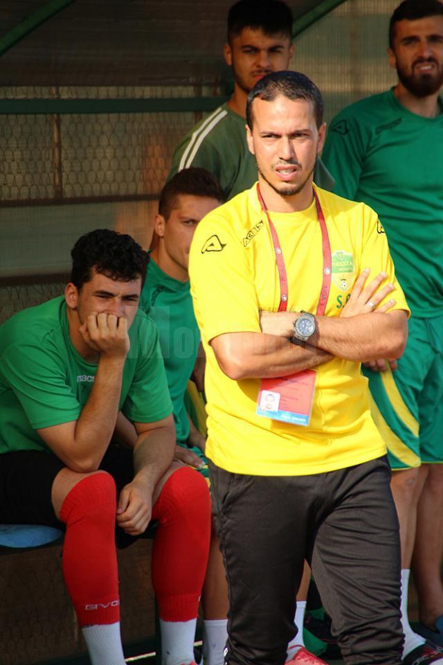 Antrenorul sucevenilor, Selim Benachour, a fost nemulţumit de jocul echipei în repriza a doua