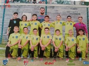 Grupa Under 12 de la LPS Suceava s-a clasat pe locul 2 la Cupa E.ON Kinder