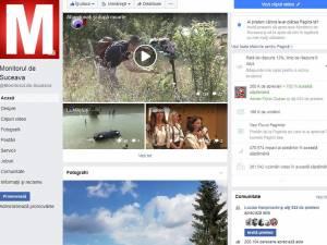 Pagina Monitorul de Suceava are peste 200.000 de fani