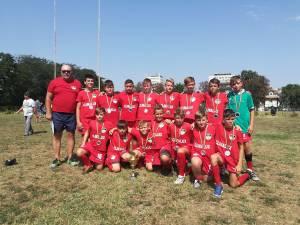 Echipa sub 12 ani CSS Gura Humorului, antrenor Florin Nistor