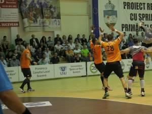 Echipa Universității Suceava a fost foarte aproape de un rezultat de egalitate în meciul cu CSM București