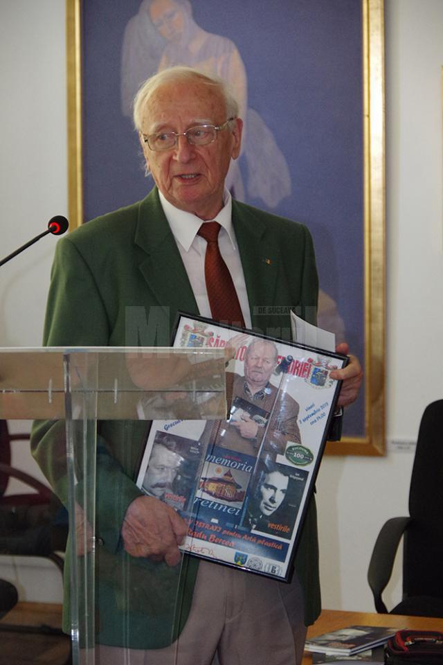 """Premiile Fundației """"Roman Istrati"""" pentru artă plastică, publicistică, muzică și literatură, acordate vineri la Biblioteca Bucovine"""