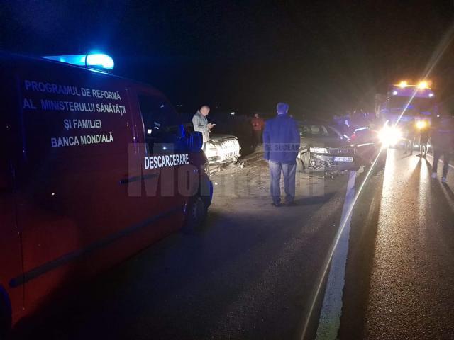 Accidentul s-a petrecut duminică noapte, în jurul orei 23.00