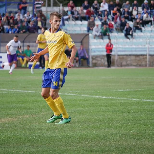 Cosmin Coroamă a marcat golul victoriei pentru Bucovina