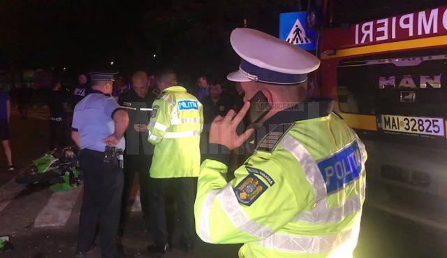 Polițiștii au fost scoși în stradă încă din seara zilei de 3 septembrie