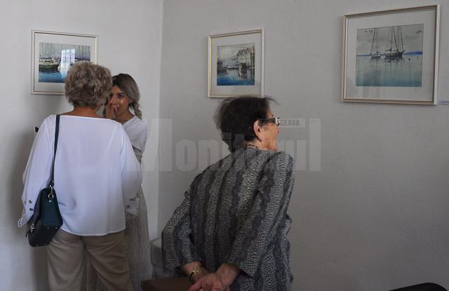 La Fălticeni, expoziţie de acuarelă a pictorului Alexandros Pintilii Karciucas