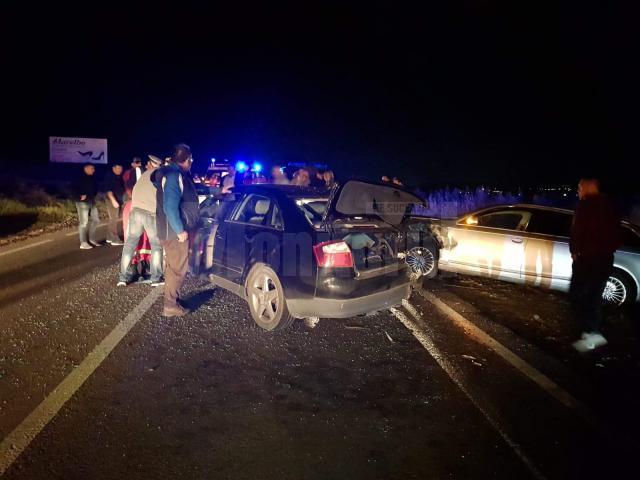 Accidentul s-a produs din cauza nepăstrării distanței regulamentare în mers