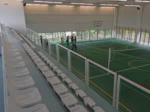 Noua sală de sport din comuna Bechișești