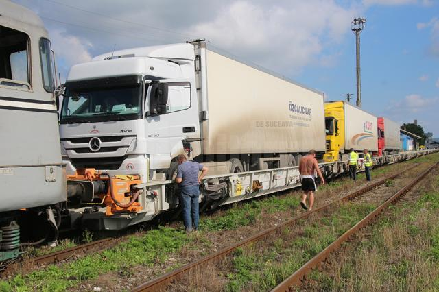 Lansarea oficială a sistemului de transport al tirurilor pe calea ferată va fi făcută până la sfârșitul lunii septembrie