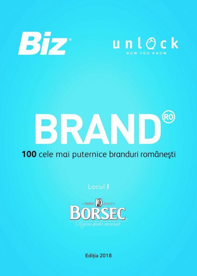 Borsec, cel mai puternic brand românesc