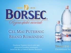 Borsec - cel mai puternic brand autohton