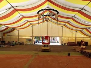 Oktoberfest în Est va avea loc într-un imens cort amplasat în parcul  Ariniș