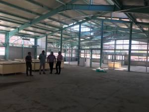 Piaţa Burdujeni modernizată va fi dată în folosinţă la finele anului