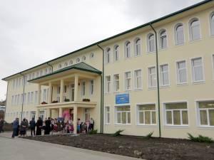 Corpul de clădire A, inaugurat luni, face parte dintr-un amplu complex educațional