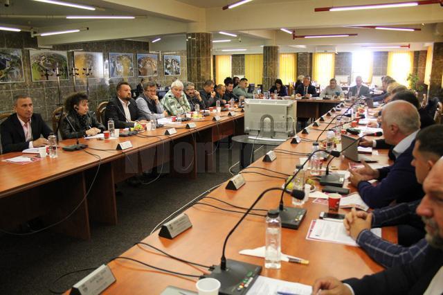 Realizarea noului pod peste apa Sucevei a fost aprobată de toți consilierii locali prezenți la ședință