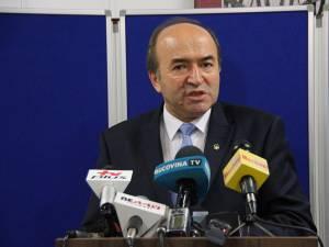 Tudorel Toader, ministrul Justiţiei din România, a fost prezent ieri la Suceava