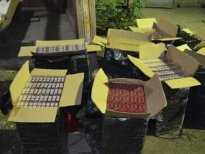 Țigările de contrabandă au fost confiscate
