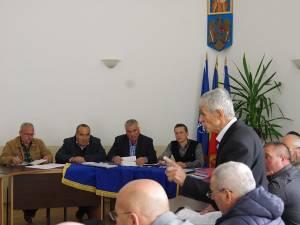 Ședință de Consiliu Local la Cajvana