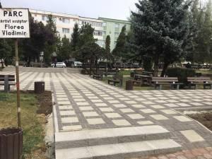 Noul aspect al Parcului Vladimir Florea, dupa lucrarile de reabilitare 2