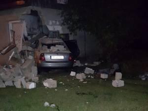 Mașina implicată în accidentul de la Marginea