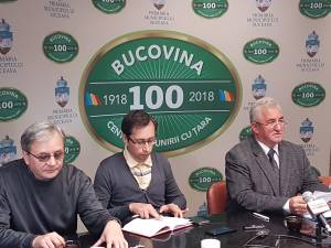 Primarul Sucevei, la conferinta de presa