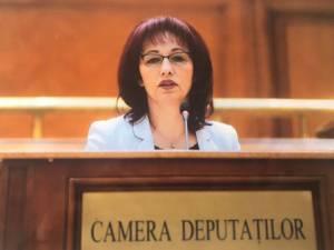 Deputatul Uniunii Polonezilor din România, Victoria Longher