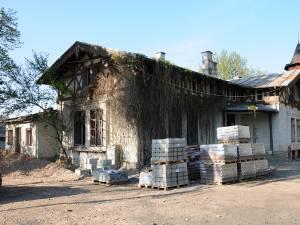 Clădirea fostului Consulat Austriac de la Fălticeni, aflată în stare de degradare