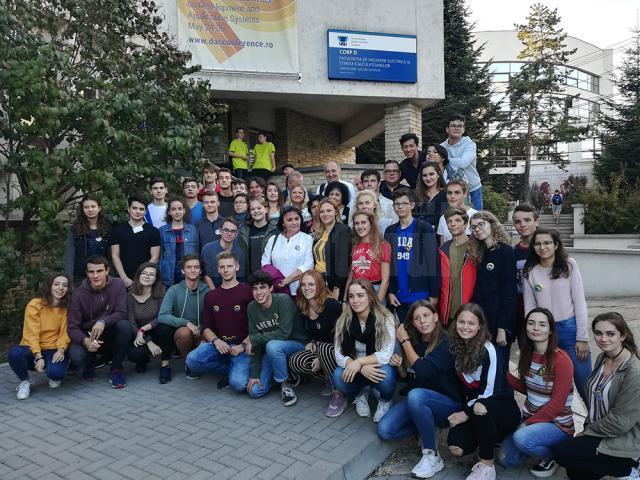 """Colegiul """"Petru Rareș"""" a fost gazdă pentru patru delegații de elevi și profesori din Franța, Germania, Polonia și Olanda"""