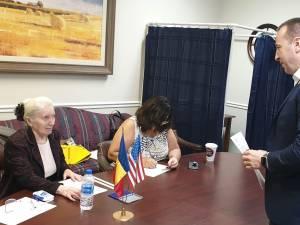 Viceprimarul Sucevei, Lucian Harșovschi, a votat din Statele Unite ale Americii 2