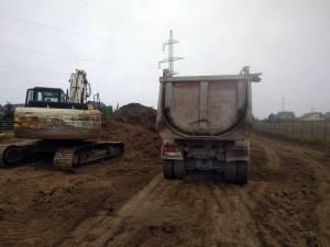 Constructorii au reînceput lucrările la şoseaua de centura a Sucevei