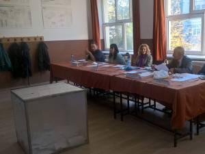 Referendum - Secţia de votare nr. 7 din municipiul Suceava