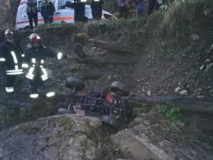 Accidentul s-a produs marţi seară, pe raza satului Maidan, comuna Cacica