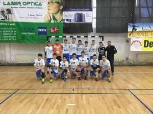 Echipa de juniori III CSU Suceava, antrenor Vasile Boca