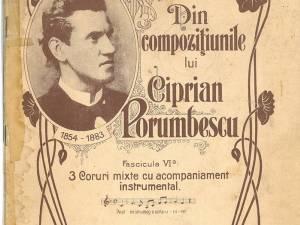 Compozitorul Ciprian Porumbescu – 165