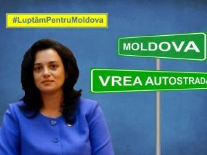 Angelica Fădor anunţă că PNL vrea ca autostrada Ungheni - Iași - Târgu Mureş să fie declarată obiectiv de interes naţional