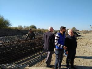 După verificarea în teren, Nistor Tatar s-a declarat mulţumit de ritmul şi calitatea lucrărilor
