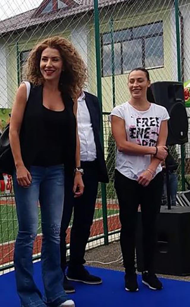 Cătălina Ponor şi Carmen Brumă vin marți, la Şcoala Gimnazială Nr. 4 Vatra Dornei