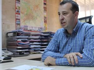 Viceprimarul Lucian Harșovschi, inițiatorul proiectului de hotărâre
