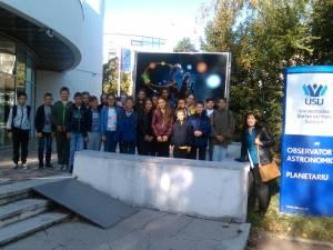 """Proiectul intitulat """"În spaţiu este loc pentru toată lumea!"""" s-a desfășurat la Boroaia, Baia și Fălticeni"""