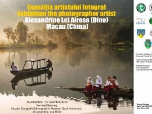 Expoziţia artistului fotograf Alexandrino Lei Ariosa (Dino) din Macau (China)